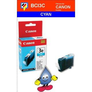 BCI3eC -cyan- Canon Original Druckerpatrone mit 13ml Inhalt -4480A002-
