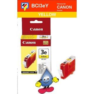 BCI3eY -yellow- Canon Original Druckerpatrone mit 13ml Inhalt -4482A002-