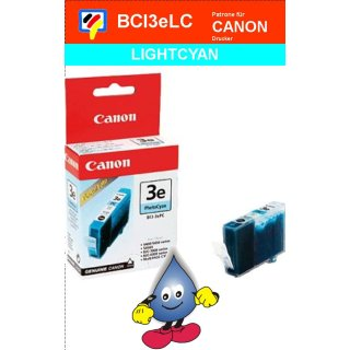 BCI3ePC -Fotocyan- Canon Original Druckerpatrone mit 13ml Inhalt -4483A002-