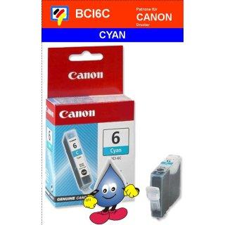 BCI6C -cyan- Canon Original Druckerpatrone mit 13ml Inhalt -4706A002-