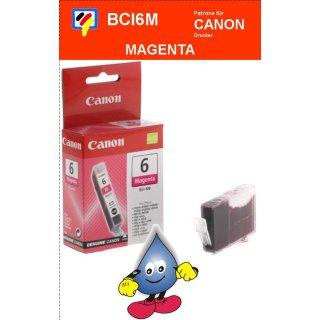 BCI6M -magenta- Canon Original Druckerpatrone mit 13ml Inhalt -4707A002-