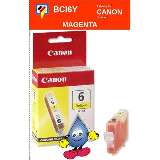 BCI6Y -yellow- Canon Original Druckerpatrone mit 13ml Inhalt -4708A002-