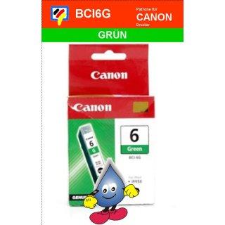 BCI6G -grün- Canon Original Druckerpatrone mit 13ml Inhalt -9473A002-