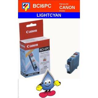 BCI6PC-fotocyan- Canon Original Druckerpatrone mit 13ml Inhalt -4709A002-