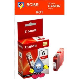 BCI6R-rot- Canon Original Druckerpatrone mit 13ml Inhalt -8891A002-