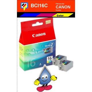 BCI16 -color- Canon Original Druckerpatrone mit 2x 8,0 ml Inhalt -9818A002-