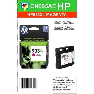 HP933MXL - Original CN055AE - magenta- Druckpatrone mit ca. 825 Seiten Druckleistung nach ISO