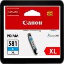 Canon CLI-581CXL Cyanpatrone mit ca. 515 Seiten...