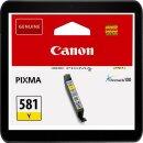 Canon CLI-581Y Yellowpatrone mit ca. 257 Seiten...