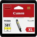 Canon CLI-581YXL Yellowpatrone mit ca. 514 Seiten...