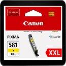 Canon CLI-581YXXL Yellowpatrone mit ca. 824 Seiten...