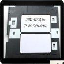 10 weiße Dr.Inkjet PVC Karten mit Chip für...