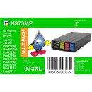 HP973X Multipack mit 4 XL TiDis Ersatzpatronen - je 1x...