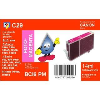 C29 - TiDis Ersatzkombipatrone mit 17ml Inhalt - BCI6ePM/BCI3ePM - Fotomagenta -