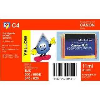 C4 - TiDis Ersatzpatrone mit 11ml Inhalt für BJI201Y - yellow -