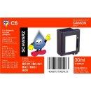 C6 TiDis Ersatzdruckerpatrone mit 29ml Inhalt für BC01 - schwarz -