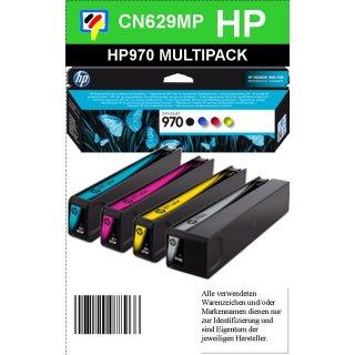 HP970/971 MULTIPACK für 10.500 Seiten zum Supersparpreis