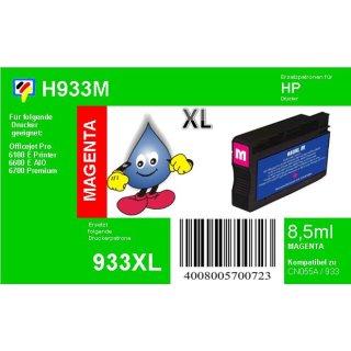 HP: Patrone für HP magenta Officejet 6700 Premium ersetzt CN055AE, No.933XL