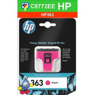HP363M - Original C8772EE - magenta -Druckpatrone mit 3,5ml Inhalt zum Superangebot