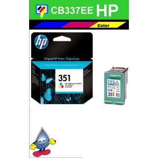 HP351C - Original CB337EE - color -Druckpatrone mit 3,5ml Inhalt und ca. 170 Seiten Druckleistung nach Iso