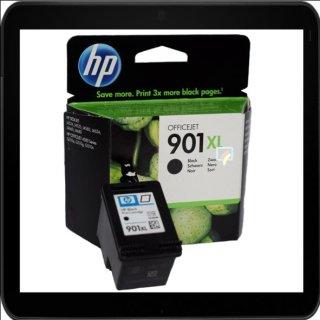 HP901BKXL - Original CC654AE - schwarz- Druckpatrone mit ca. 700 Seiten Druckleistung nach Iso