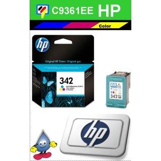 HP342C - Original C9361EE - color -Druckpatrone mit 5ml Inhalt und ca. 175 Seiten Druckleistung nach Iso