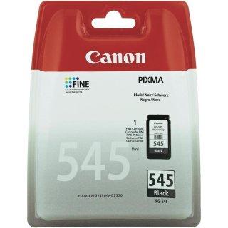 PG545BK - schwarz - Canon Original Druckerpatrone mit 8ml Inhalt -8287B001-