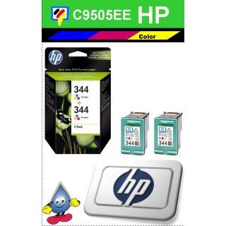 HP344CO - Original C9505EE - color -Druckpatronen mit je 2x 14ml Inhalt zum Superangebot