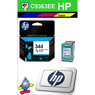 HP344C - Original C9363EE - color -Druckpatrone mit 14ml Inhalt und ca. 450 Seiten Druckleistung nach Iso