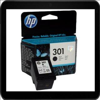 HP301BK - Original CH561EE- schwarz-Druckpatrone mit 3ml Inhalt und ca. 190 Seiten Druckleistung nach Iso