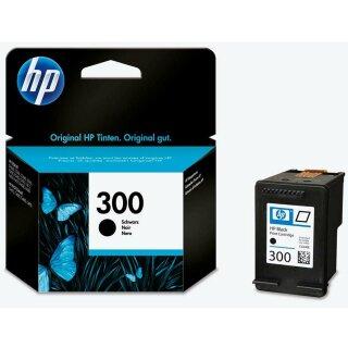 HP300BK - Original CC640EE- schwarz-Druckpatrone mit ca. 200 Seiten Druckleistung nach Iso