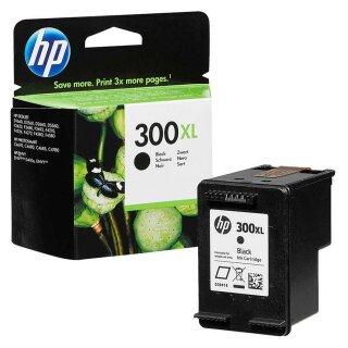 HP300BXL - Original CC641EE- schwarz-Druckpatrone mit ca. 600 Seiten Druckleistung nach Iso