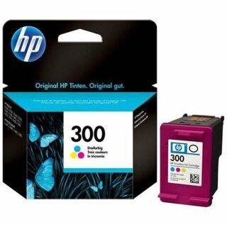 HP300C - Original CC643EE- color-Druckpatrone mit ca. 165 Seiten Druckleistung nach Iso