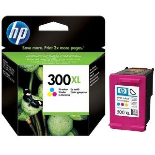 HP300CXL - Original CC644EE- color-Druckpatrone mit ca. 440 Seiten Druckleistung nach Iso