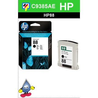 HP88BK - Original C9385AE-schwarz-Druckpatrone mit 20,5ml Inhalt zum Superangebot