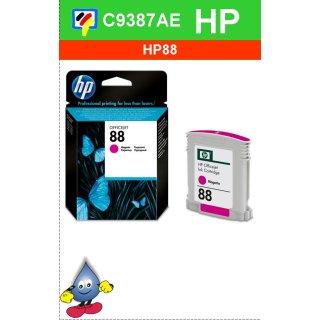 HP88M - Original C9387AE-magenta-Druckpatrone mit 10ml Inhalt zum Superangebot