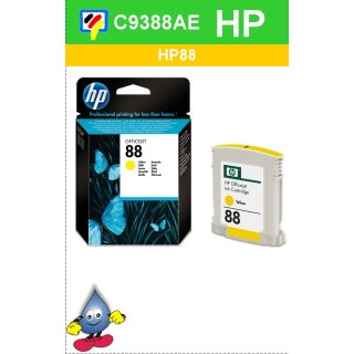 HP88Y - Original C9388AE-gelb-Druckpatrone mit 10ml Inhalt zum Superangebot