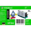 HP364B - TiDis XL Ersatzpatrone - schwarz - mit 24ml...