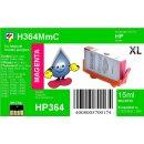HP364M - TiDis Ersatzpatrone - magenta - mit 15ml Inhalt...