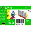 HP364Y - TiDis Ersatzpatrone - yellow - mit 15ml Inhalt...