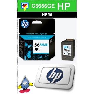 HP56BK - Original C6656GE-schwarz-Druckpatrone mit 4,5ml Inhalt zum Superangebot
