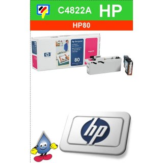 HP80M - Original C4822A-magenta-Druckkopf mit 17ml Inhalt zum Superangebot
