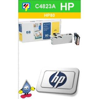 HP80Y - Original C4823A-gelb-Druckkopf mit 17ml Inhalt zum Superangebot