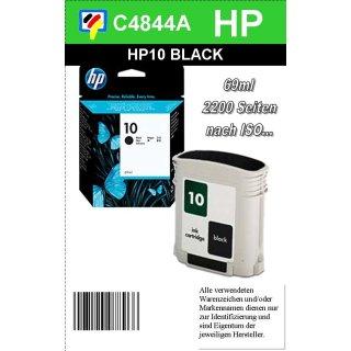 HP10BK - Original C4844AE-schwarz-Druckpatrone mit 69ml Inhalt zum Superangebot