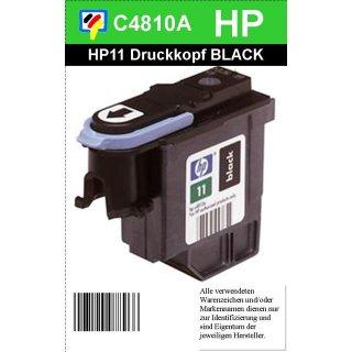 HP11BK - Original C4810AE -schwarz- Druckkopf mit 8ml Inhalt zum Superangebot