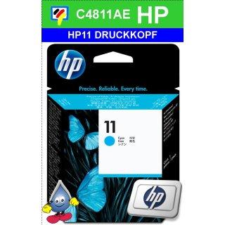 HP11C - Original C4811AE -cyan- Druckkopf mit 8ml Inhalt zum Superangebot