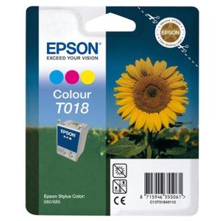 T018401 -color- Epson Original Druckerpatrone mit 37ml Inhalt -C13T01840110-
